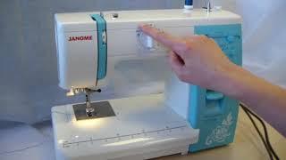 Обзор электромеханической швейной машины Janome HomeDecor1019