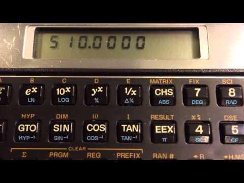 Long live HP calculators!