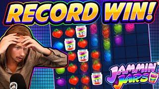 MEGA WIN!!! Jammin Jars BIG WIN - HUGE WIN from CasinoDaddy Live Stream