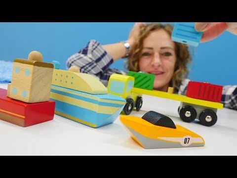 Spielzeugvideo für Kinder -