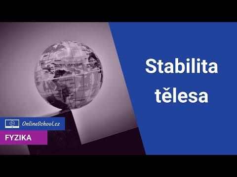 Stabilita tělesa   3/3 Mechanika tuhého tělesa   Fyzika   Onlineschool.cz