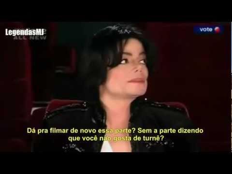 "Michael Jackson - ""Eu amo fazer turnê"" (Legendado)"
