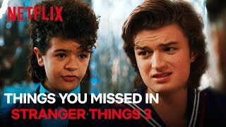 Things You Missed In Stranger Things Season 3 | Netflix