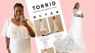 Plus Size Women Try Torrid Wedding Dresses