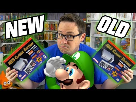 They CHANGED the NES CLASSIC!?? | Game Dave