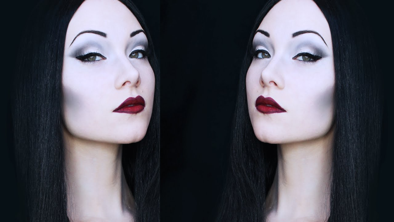 Morticia Addams Makeup Tutorial  sc 1 st  YouTube & Morticia Addams Makeup Tutorial - YouTube