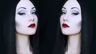 Morticia Addams Makeup Tutorial Thumbnail