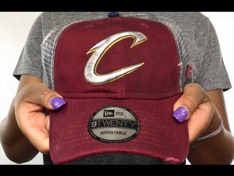 Cavaliers  RUSTIC TRUCKER SNAPBACK  Hat by New Era - YouTube ec929768f255