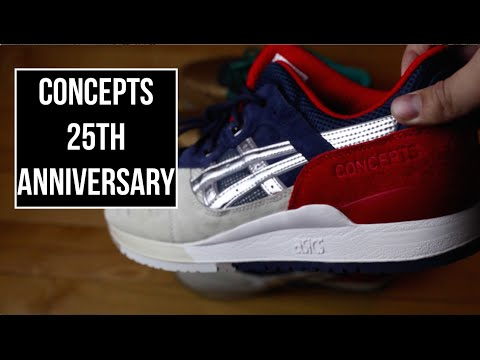 Concepts x Asics 25th Anniversary Gel Lyte 3 On Feet!