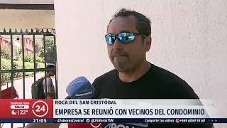 Inician obras para retirar la roca caída del cerro San Cristóbal que pesaría ocho toneladas