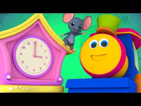 Bob The Train Hickory Dickory Nursery Rhymes Kids Songs Bob Cartoons S01EP34