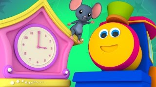 Bob The Train | Hickory Dickory | Nursery Rhymes | Kids Songs