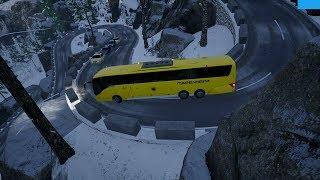 Fernbus Simulator | La Serpiente | DLC Austria & Suiza | Ruta Peligrosa