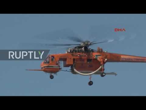 Turkey: Rescue operations underway to recover sunken Russian Navy ship