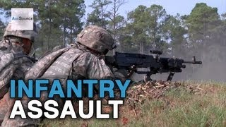 National Guard - Infantry Platoon Assault Training