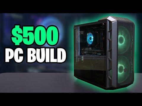 $500 Budget Gaming PC - Ryzen 5 3400G + RX 580