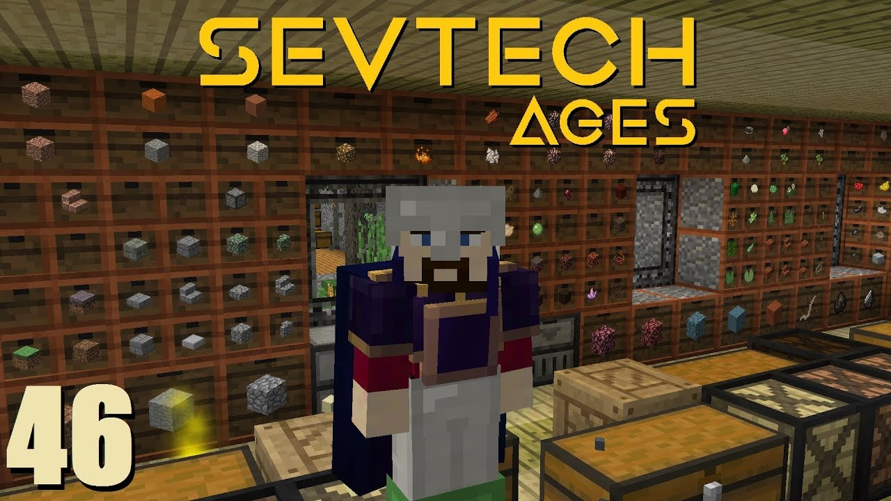 SevTech Ep 46: Drawers and Drawers of Storage