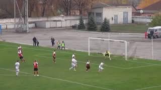 Голкипер отбивает пенальти головой в матче Горняк-Спорт – Сумы  первой лиги чемпионата Украины