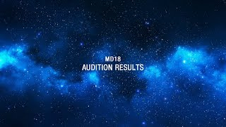 「MD」2018:Turo || Audition results