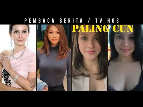 Download TOP 10 Pembaca Berita / TV Hos Malaysia PALING CUN Sepanjang Zaman