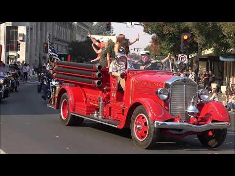 Petaluma Veterans Day Parade 2018 pt1