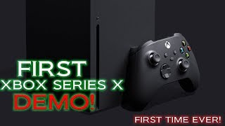 The First Xbox Series X Demo Just Happened! These Graphics Are Better Than Anything Ever Seen!