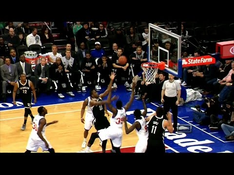 Thaddeus Young -- 21 Points against 76ers | Nets vs 76ers 3/14/15