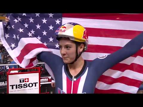 Women's Individual Pursuit Finals - 2018 UCI Track Cycling World Championships