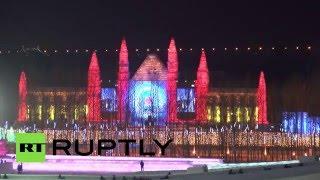 В Китае открылся крупнейший международный фестиваль льда и снега(В Харбине открылся 32-й Международный фестиваль льда и снега. В его рамках запланировано более 100 мероприяти..., 2016-01-06T09:07:59.000Z)
