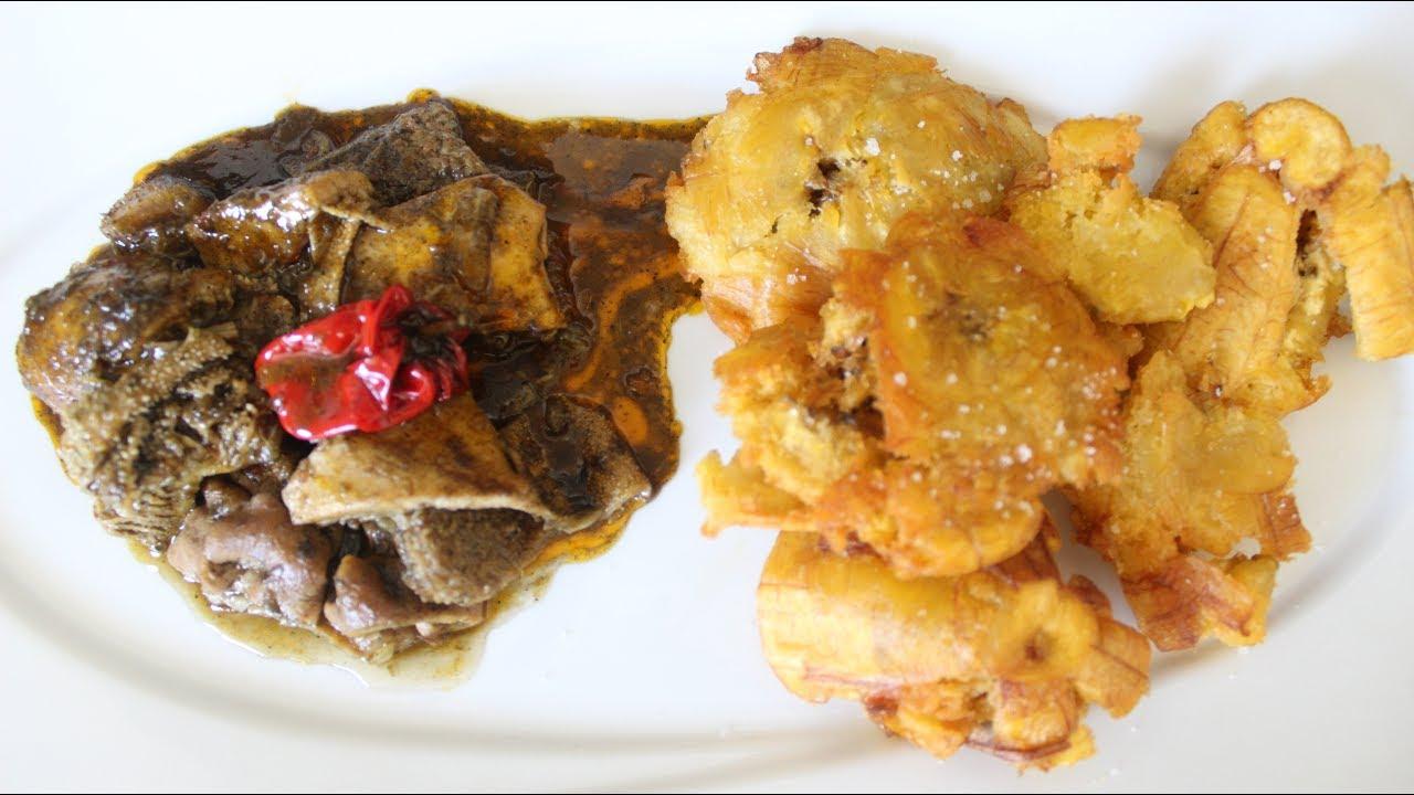 7349d10f7d Mbongo'o Tripes /Sauce ébène (Cameroun)