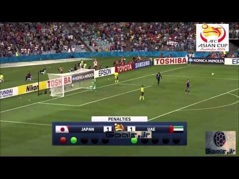 Japan vs UAE 1 - 1 (Penalty 4 - 5) Asian Cup 2015 Quarter Finals