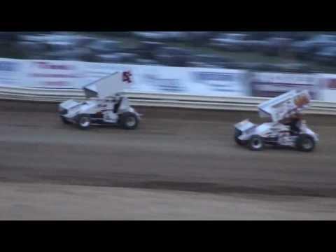 OVSCA Sprint Heat #2 From Jackson County Speedway, 4/6/13.