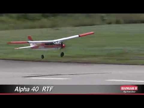 Радиоуправляемый самолёт с ДВС Hangar9 Alpha 40 RTF (HAN4400)