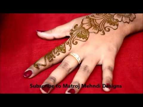 Easy Simple Mehndi Henna Designs For Hand Simple Diy Henna Designs