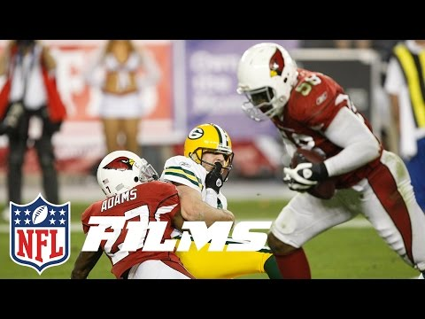 #9 Cardinals Return Fumble for TD to Beat Packers | NFL Films | Top 10 Playoff Finishes