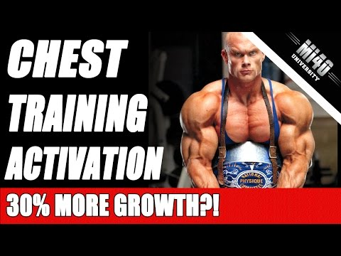 Ben Pakulski Chest Training Workout, Chest Muscle Activation Exercise
