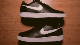 Unboxing a NIKE EBERNON Low