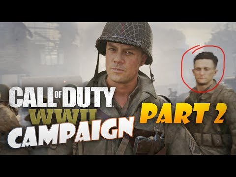 MORE DANGEROUS THEN THE ENEMY IS PRIDE! - CALL OF DUTY WW2 CAMPAIGN WALK-THROUGH - PART 2