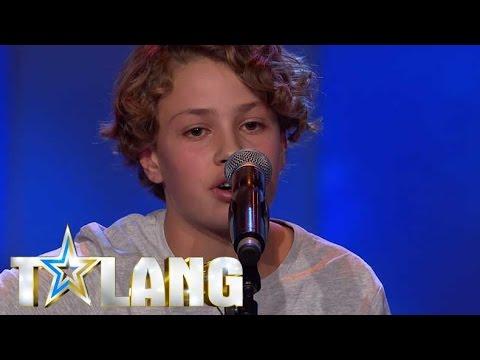 Noak charmar hela juryn i Talang 2017 med sin Ed Sheeran-cover - Talang (TV4)