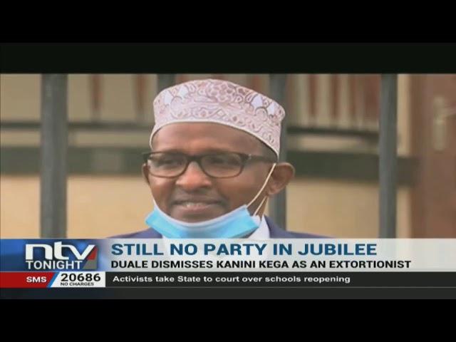 Aden Duale accuses Kieni MP Kanini Kega of extortion