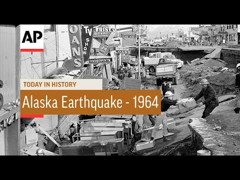 Alaska Earthquake - 1964 | Today In History | 27 Mar 17