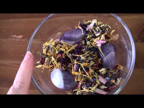 My Crystal Spirit Herbal blend and Poppet