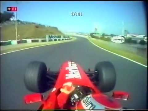 F1 Suzuka 1999 - Eddie Irvine Onboard