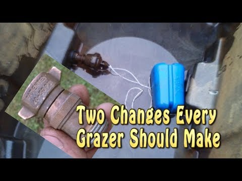 Two Changes Every Grazer Should Make To Portable Watering System