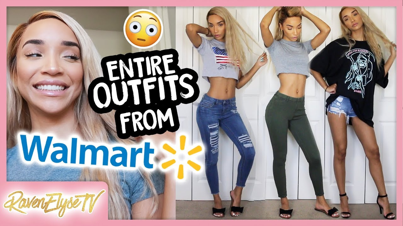c6528aa629a CAN I SLAY WALMART OUTFITS ! (Shopping Vlog + Try-On Haul!) - YouTube
