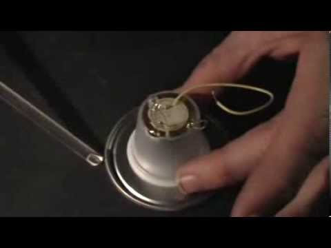 Magnetic Resonance Amplifier: Supplement: Piezo Element, LED Flashes