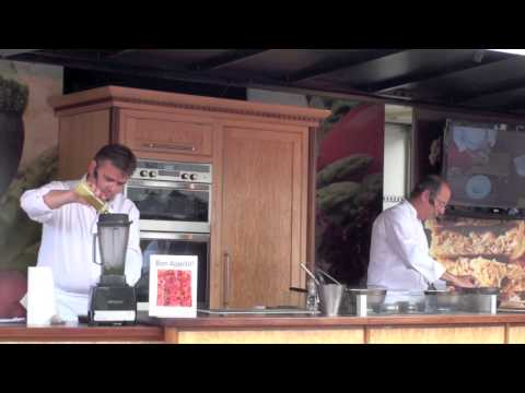 Bury St Edmunds Food & Drink Festival Cookery Demonstration From Maison Bleue Restaurant