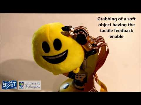 guante robótico con mejor sentido del tacto