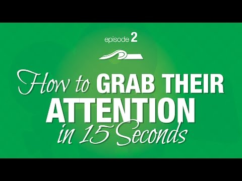 How to Grab a Producer's Attention in 15 Seconds -- Episode #2 of The Producer's Perspective