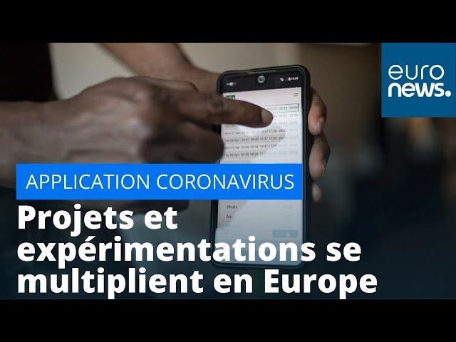 Applis de traçage du coronavirus : les projets et expérimentations se multiplient en Europe